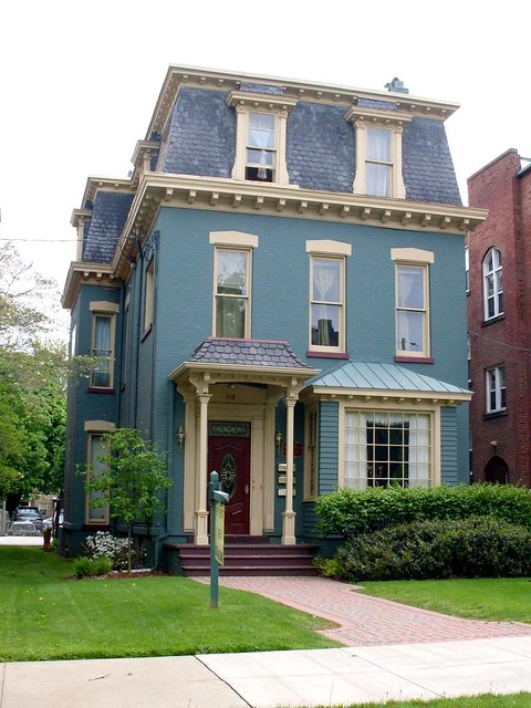 Painted Brick Homes White