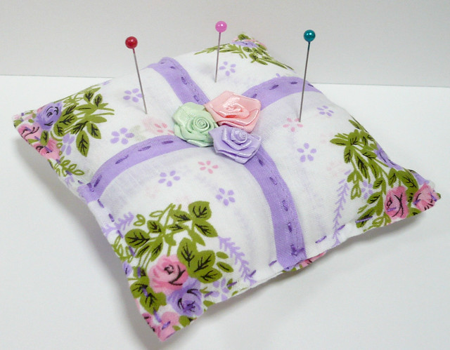 Handkerchief Pincushion Sewing Pattern PDF