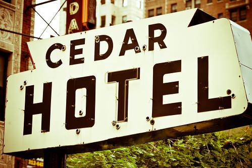 Cedar Hotel, Plate 3