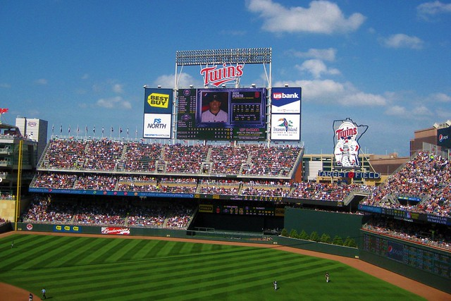 My First Trip to Target Field from Flickr via Wylio