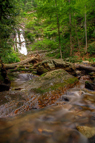longexposure trees mountains tree nature waterfall nc rocks stream northcarolina hdr naturephotography photomatix mcdowellcounty tomscreekfalls davidhopkinsphotography
