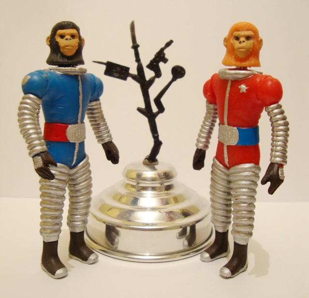 Planeta de los Simios. Planet of the Apes. Astronautas simios.