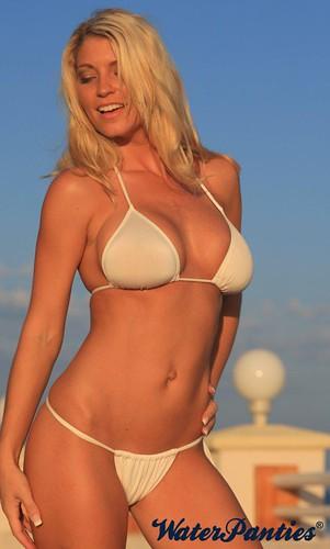 Bikini see sexy thru