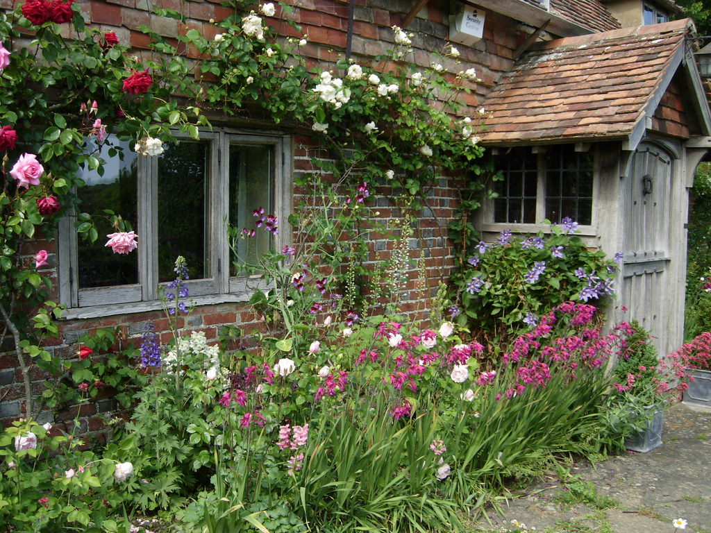 an english cottage garden june 2010 a photo on flickriver. Black Bedroom Furniture Sets. Home Design Ideas