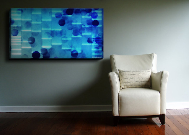 Unique abstract dna art paintings dna art paintings for Personalized dna art