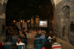 Projection de deux documentaires sur le quartier de Sarouja (Damas, 31/10/2010)