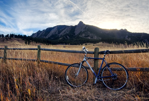 Bike Ride in the Flatirons
