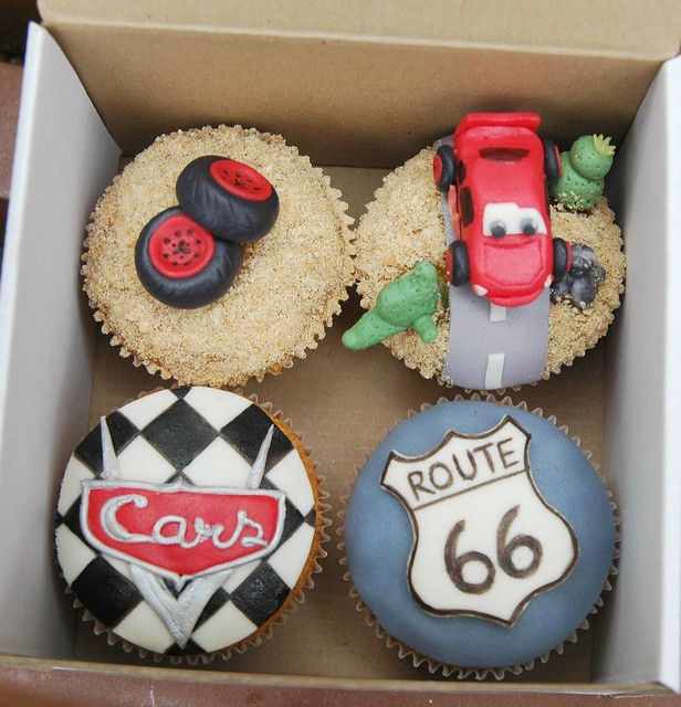 Disney Cars Cupcakes A Gallery On Flickr