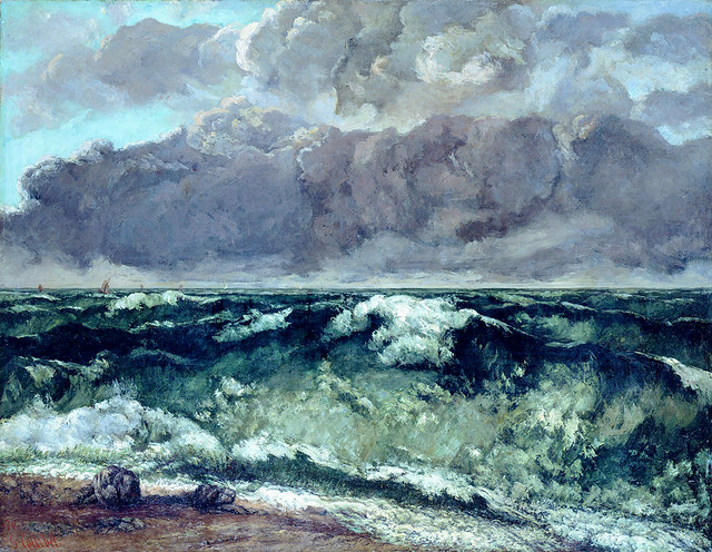 Gustave Courbet: The Wave (1869)