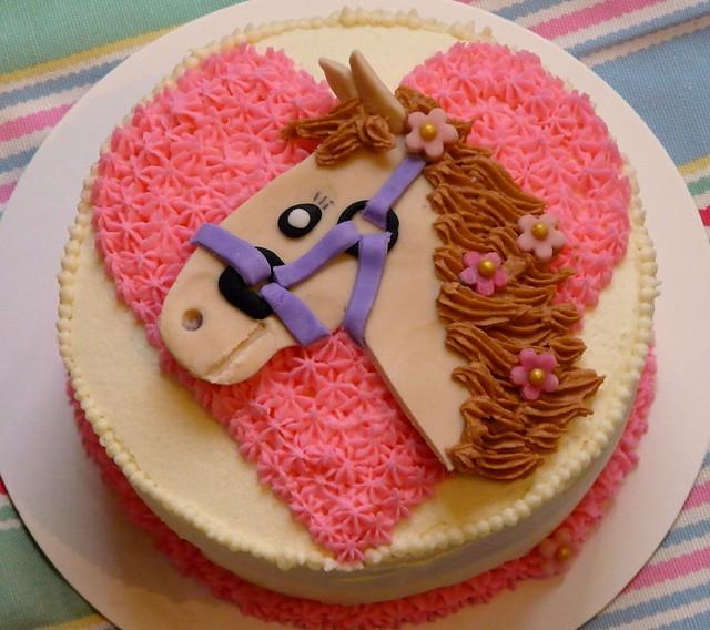 Horse Birthday Cake Easy