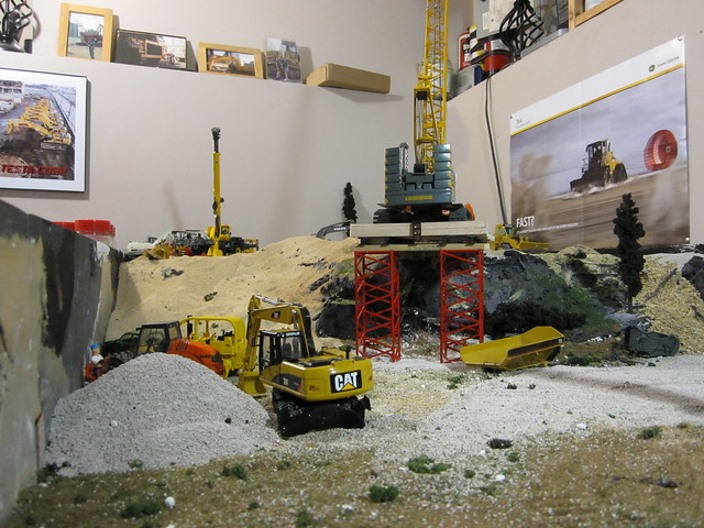 50 scale construction diorama | Flickr - Photo Sharing!