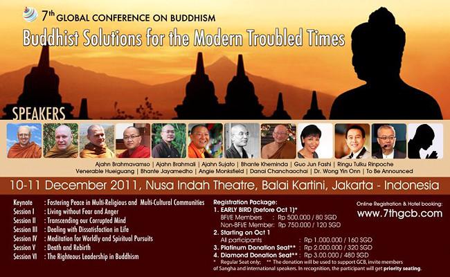 Konferensi Global Buddhisme Ke-7, Jakarta Indonesia
