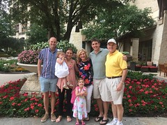 Family Trip at J.W. Marriott San Antonio