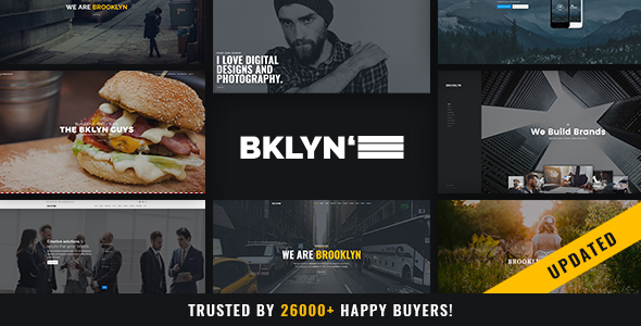 Brooklyn v4.4.9 – Responsive Multi-Purpose WordPress Theme