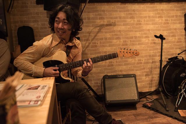 the AstroBluenauts live at Butcher Hachioji, Tokyo, 30 Jun 2017 -00128
