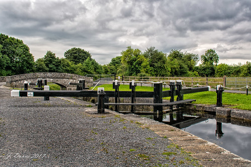 Lock at the Grand Canal.