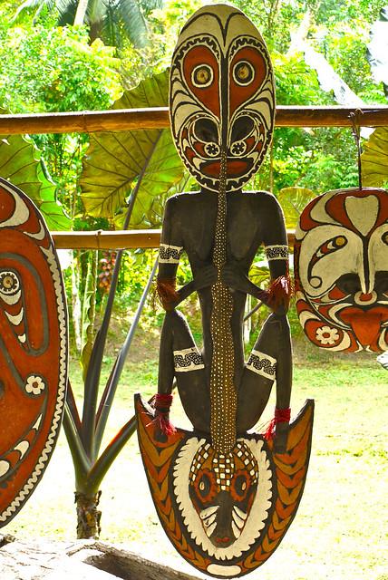 Kanganaman Village - East Sepik Province -  Papua New Guinea