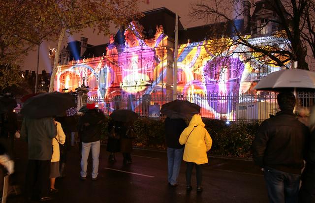 immagini Festa delle luci Lione francia
