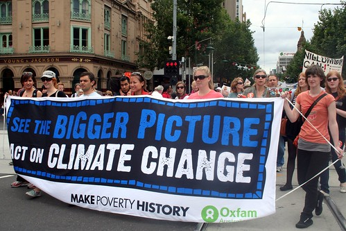 See the Bigger Picture, Act on Climate Change - Oxfam