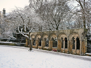 Image of Second Division. york winter snow