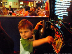 playing pole position with NO quarter   PC020213