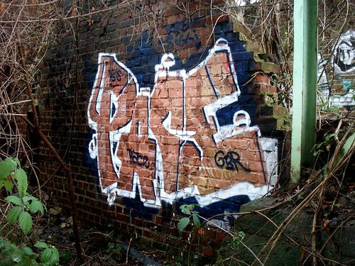 Graffiti in Köln/Cologne 2009