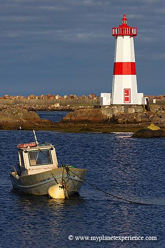 Saint Pierre and Miquelon : Pointe aux Canons Lighthouse