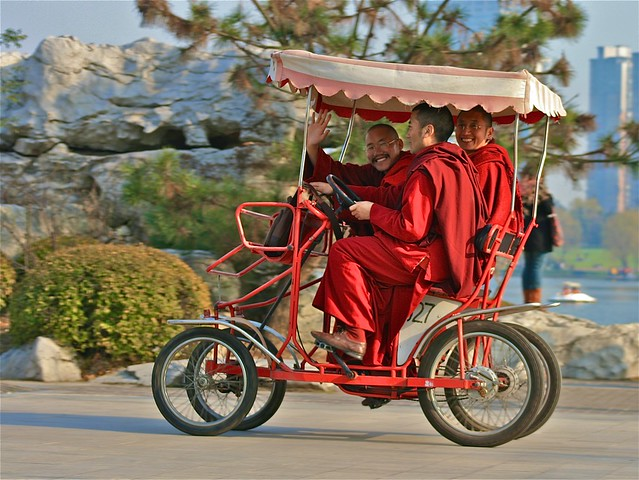 Monks on Bikes
