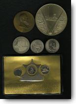 Heritage Wharton medal lot