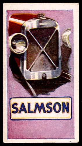 Tradecard - Salmson Motor Cars