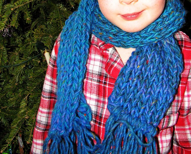 Free Knitting Pattern Magic Scarf items in Oregon Trail Yarn and