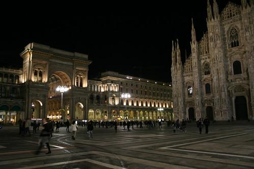 20091111 Milano 11 Piazza del Duomo 45 Duomo di Milano e Galleria Vittorio Emanuele II