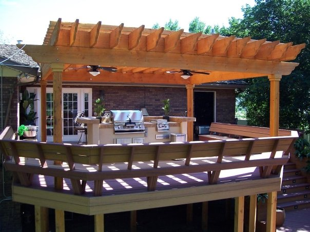 3 Reasons A Pergola Is Perfect For Your Deck Deck Design