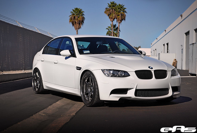Alpine White E90 M3 W Volk Te37 G2 Wheels 2 Flickr