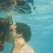 One kiss under the water