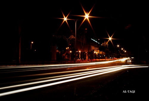 Light Trail : Wangsa Maju