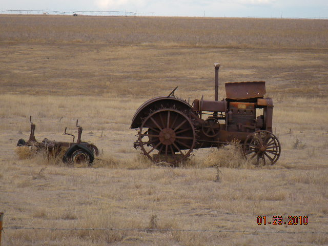 Vintage Garden Tractor Plow : Antique tractor and plow flickr photo sharing
