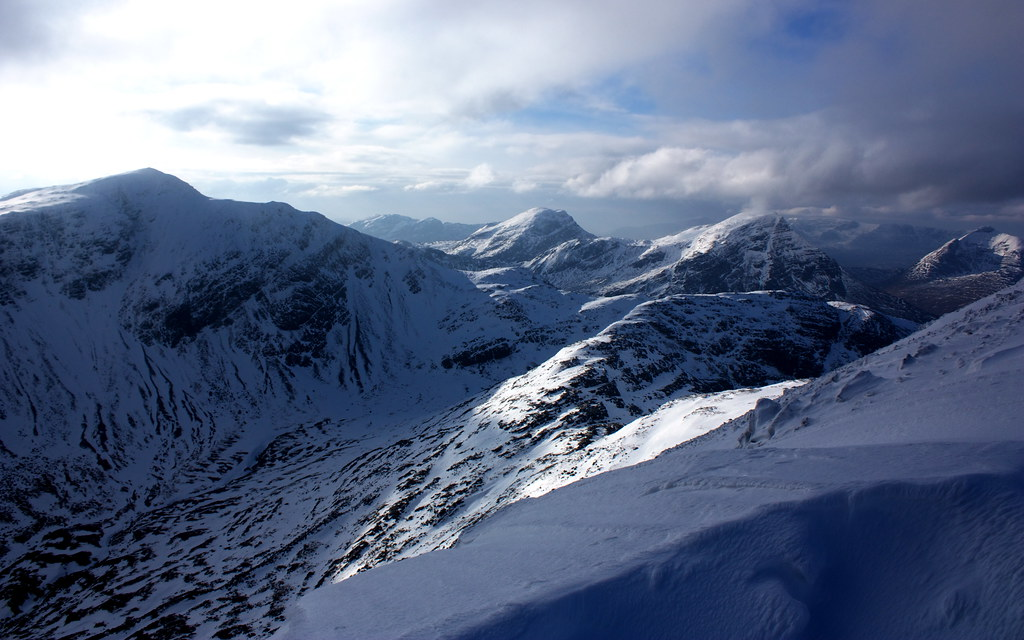 The head of Coire Lair
