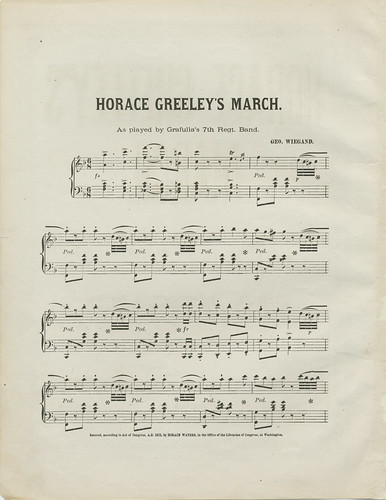 Horace Greeley's March