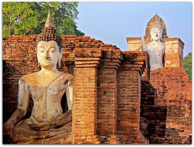 """Housed"" Buddhas"