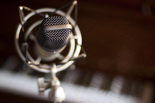 musician music brown texture choir stand singing bokeh piano naturallight explore singer microphone ensemble chorale goldenlight nikkor50mmf14d musicsheet soloist project365 hiddentalent nikond90 kawaipiano musicworx michaeljosh boybehindthelens samsonco3ucondensermic