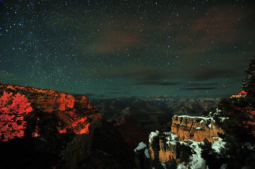 Starry Night at the Grand Canyon