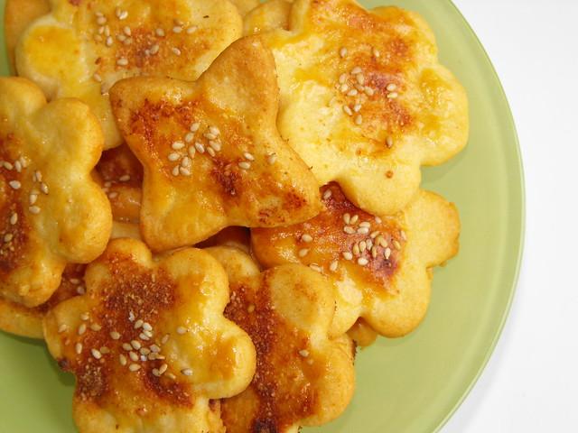 Bolachas de queijo