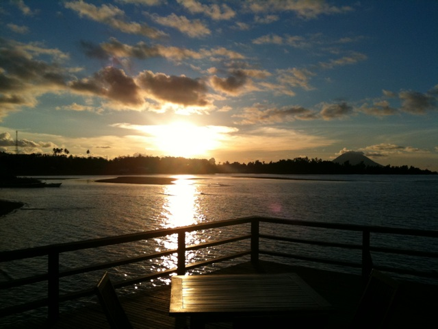 Photo:インドネシア、メナドの夕日 By tuffo_diving_take