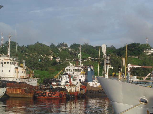 Boats in the Port, Andaman