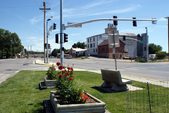 Weston County's Only Traffic Light