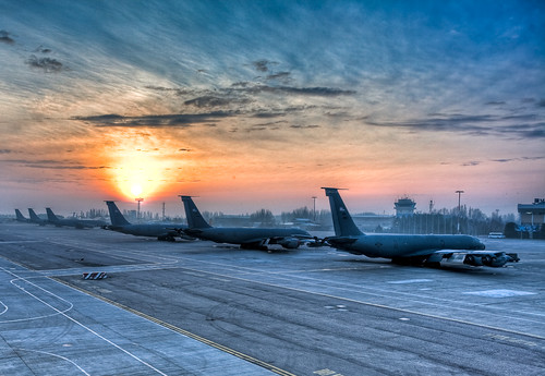 clouds sunrise canon5d kyrgyzstan hdr flightline kc135 1740f4 oef c5galaxy manasab 1hatch