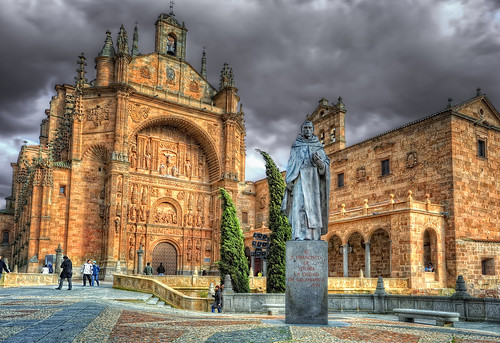 Covent of Saint Esteban – Convento de San Esteban, Salamanca (Spain), HDR