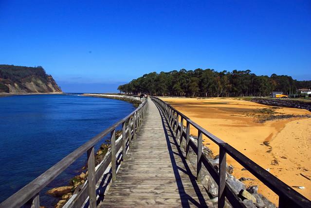 Ria de Villaviciosa y Playa de Misiego
