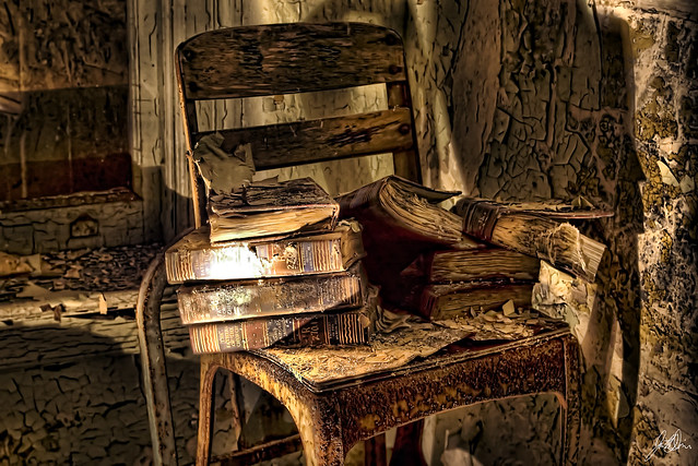 Image result for abandoned books